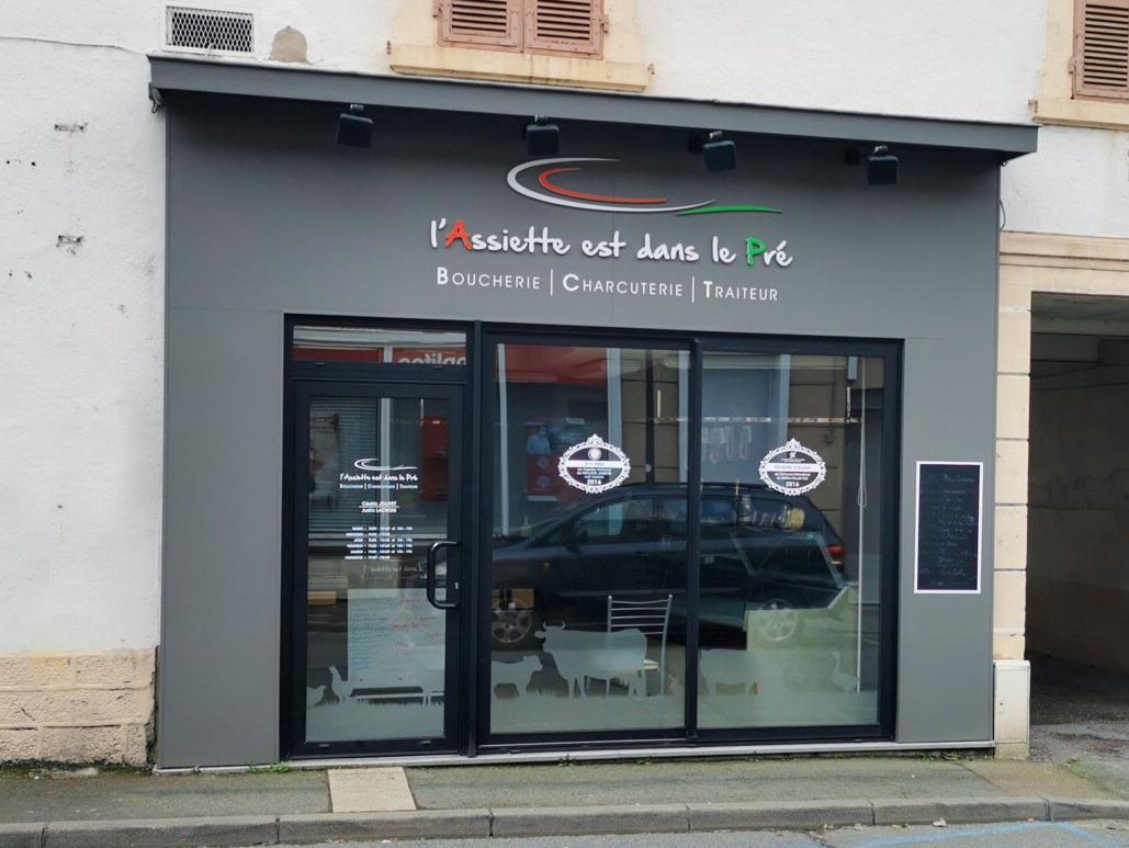 l'Assiette est dans le Pré Boucherie Charcuterie Traiteur Gueugnon Saone et Loire Viande Charolaise - fabrication maison